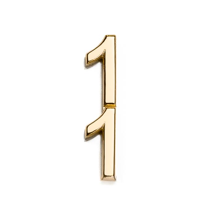 Špeciálna kolekcia deň D, 14kt zlato, číslo 11