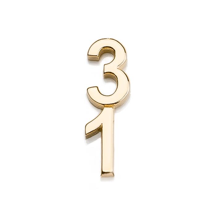 Špeciálna kolekcia deň D, 14kt zlato, číslo 31