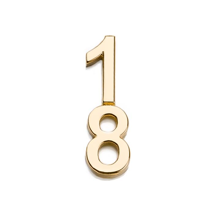 Špeciálna kolekcia deň D, 14kt zlato, číslo 18