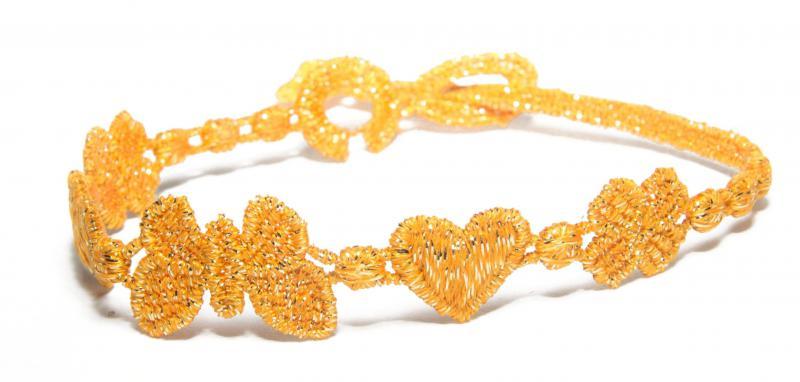 Náramok CRUCIANI Šťastie láska a sloboda lesklá oranžová