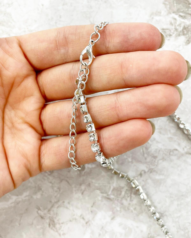 Opasok / náhrdeľník so Swarovski kryštálmi