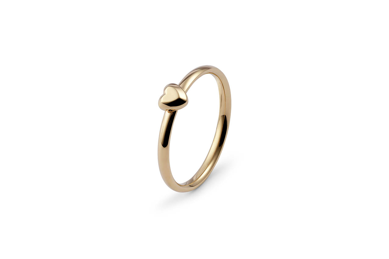 Prsteň QUDO, Golden Heart - Premia zlatý