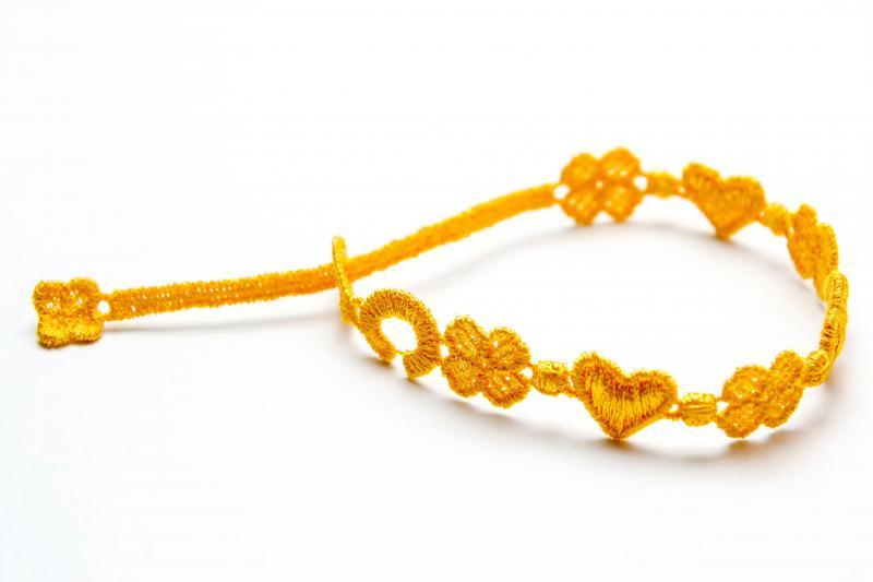 Náramok CRUCIANI Láska a šťastie oranžová