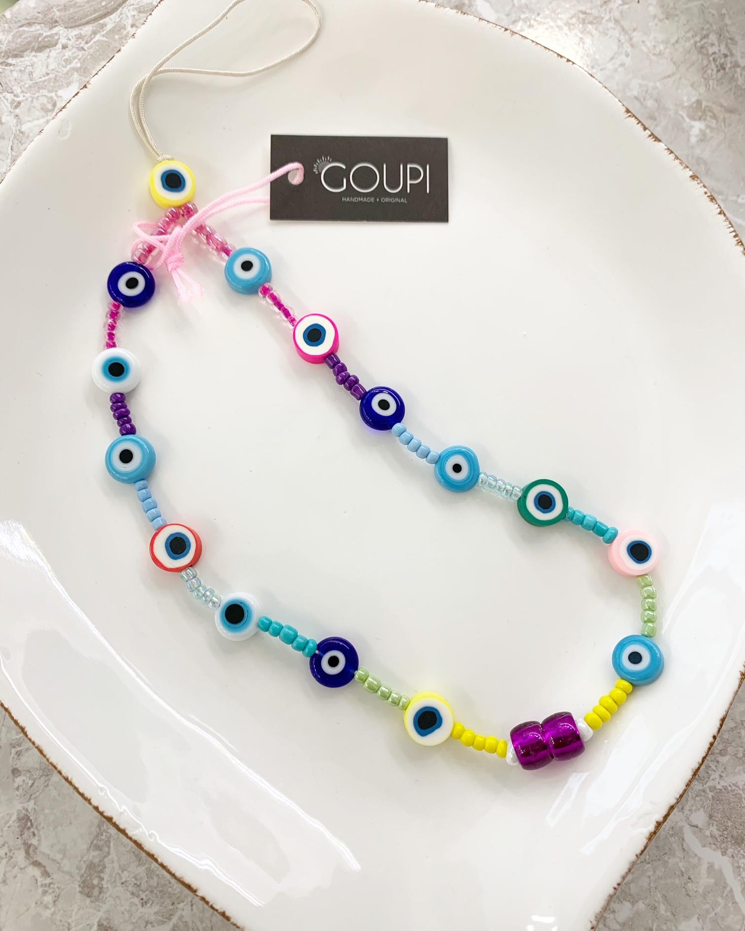 Prívesok na mobil GOUPI - phone strap - EYES