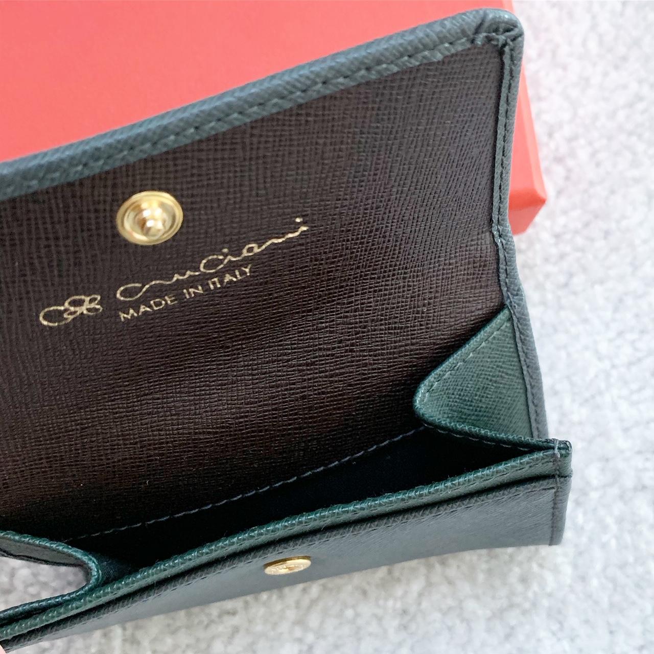 Kožená peňaženka CRUCIANI, Sivá