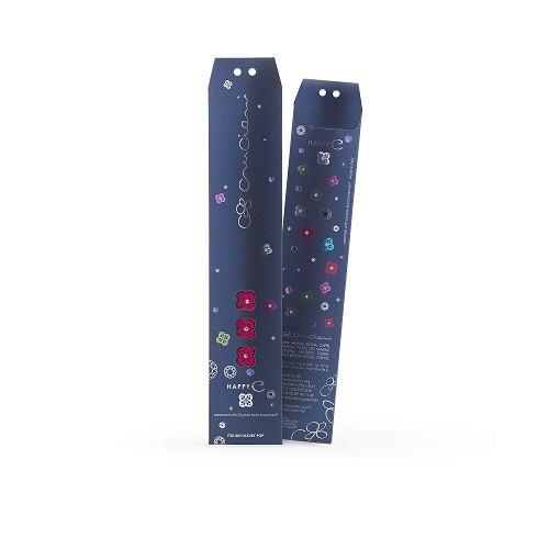Náramok CRUCIANI Štvorlístok Happy SWAROVSKI crystal modrá