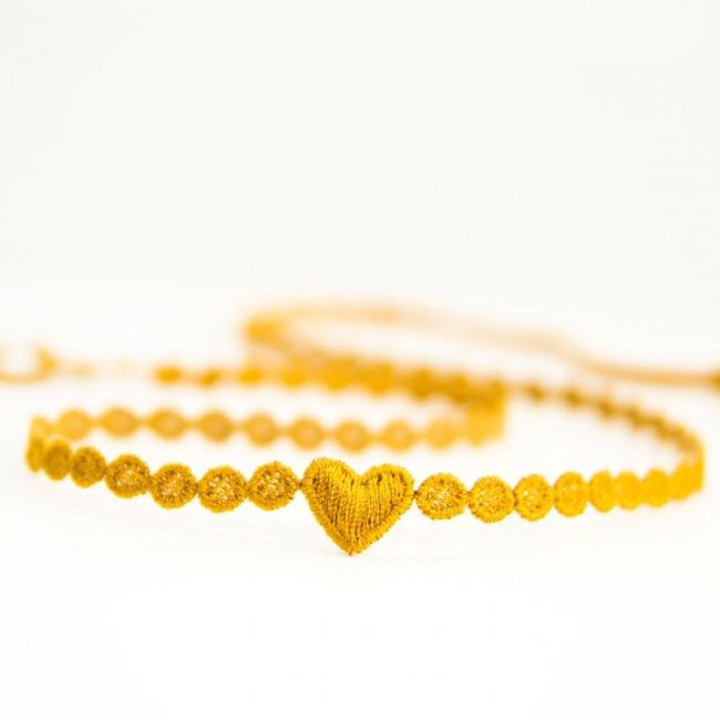 Náhrdelník CRUCIANI Srdce zlatá