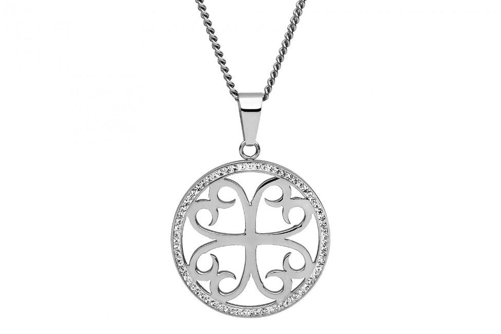 Náhrdelník QUDO Avellina silver