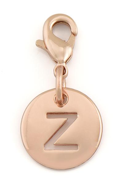 Náramok LIZAS, ružovozlatý, Iniciál A - Z