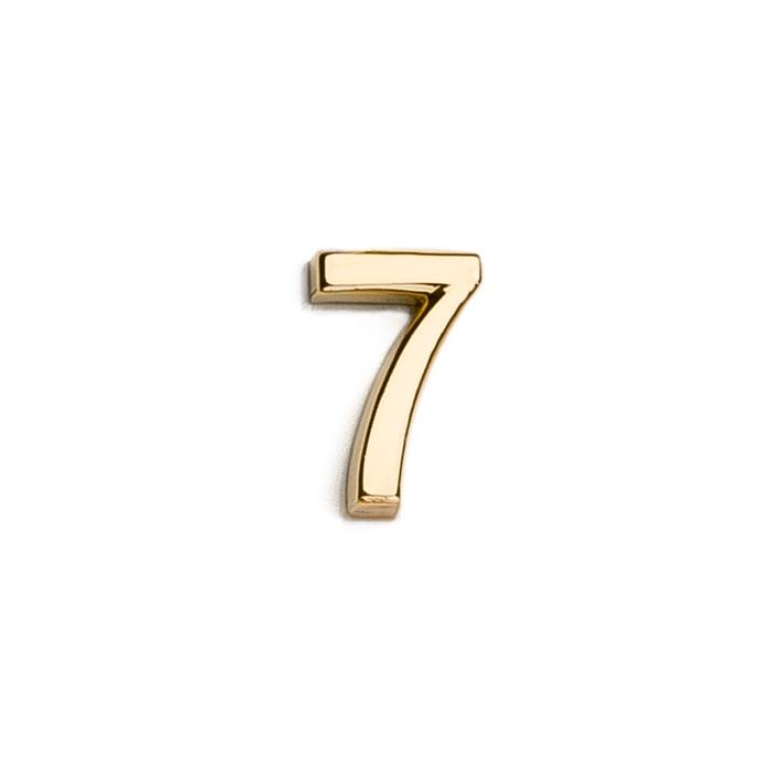 Špeciálna kolekcia deň D, 14kt zlato, číslo 7