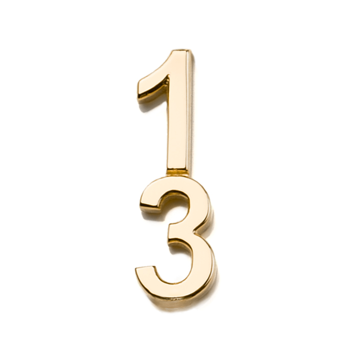 Špeciálna kolekcia deň D, 14kt zlato, číslo 13