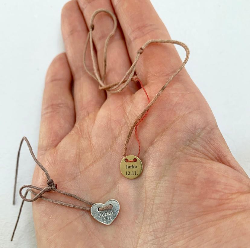Kompletné vyčistenie/refresh zlatého šperku a výmena šnúrky