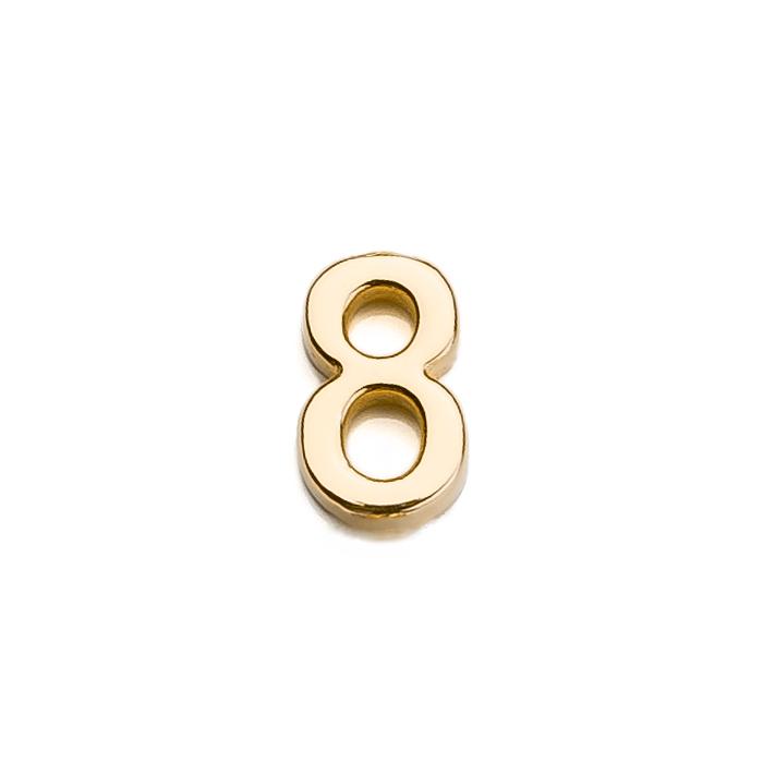 Špeciálna kolekcia deň D, 14kt zlato, číslo 8