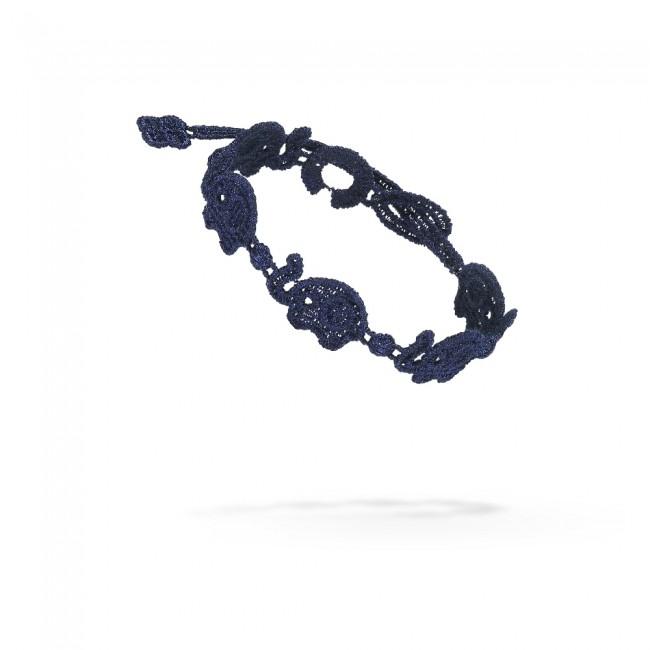 Náramok CRUCIANI Sloník tmavo modrý