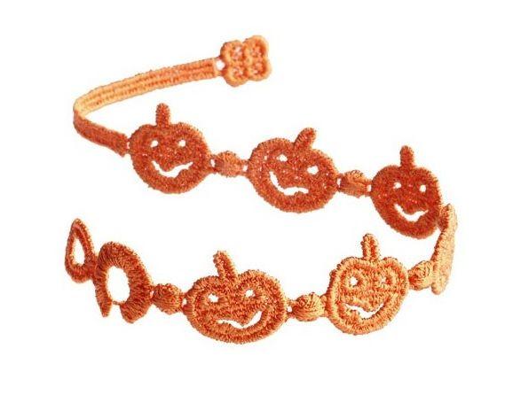 Náramok CRUCIANI Tekvičky oranžová