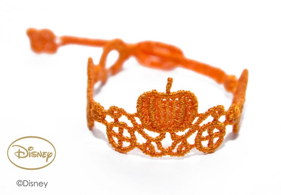 Náramok CRUCIANI detský Koč princeznej Popolušky oranžová