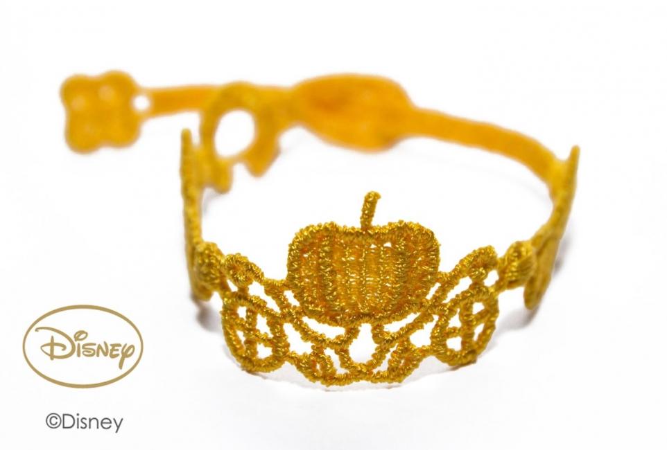 Náramok CRUCIANI detský Koč princeznej Popolušky žltá