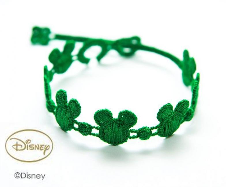 Náramok CRUCIANI Mickey Mouse zelená