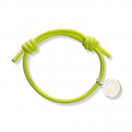Náramok STAY BLEST - KNOT NEON YELLOW