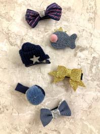 Štipčeky do vlasov - KIDS - Blue Fashion