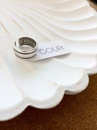 Prsteň GOUPI - SILVER MOON