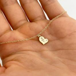 Miriam BY LEON.Y. - 14 kt zlato 585 s diamantom - Viem, že si...