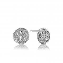 Náušnice s rímskou mincou ANIA HAIE, Striebro 925