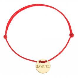 Červená šnúrka, 14kt zlato, Samuel - detský, dámsky aj pánsky
