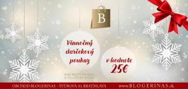 Vianočný darčekový certifikát