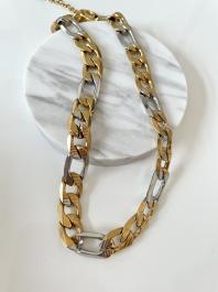 Náhrdelník GOUPI - CHAIN GOLDIE SILVER