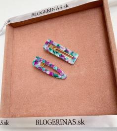 Sponka z pravej perlete - Made in Greece - ručná výroba