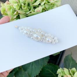 Ručne vyrobená sponka s perlami - Handmade in Greece