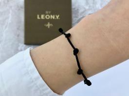 Náramok - 7 uzlíkov pre šťastie BY LEON.Y