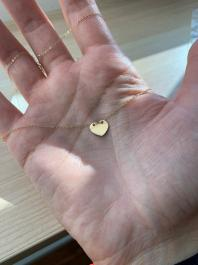 Náhrdelník BY LEON.Y. 14 kt zlato, HEART - SRDCE