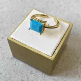 Prsteň GOUPI - BLUE PASSION
