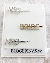 MRS. - BRIDE sponky do vlasov