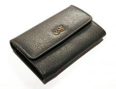 Peňaženka na mince príp. na kreditné karty CRUCIANI s darčekovým balením- Tmavošedá