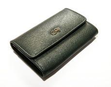 Peňaženka na mince príp. na kreditné karty CRUCIANI s darčekovým balením - Vojenská zelená