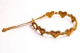 Náramok CRUCIANI Srdiečko zlatá