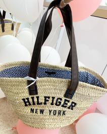 Plážová shopper kabelka - HILFIGER NEW YORK