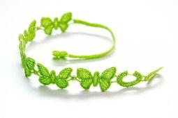 Náramok CRUCIANI Motýľ citrónovo zelená