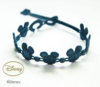 Náramok CRUCIANI Mickey Mouse svetlo oceľovo modrá