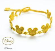 Náramok CRUCIANI Mickey Mouse olivovo zlatá
