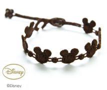 Náramok CRUCIANI Mickey Mouse hnedá
