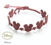 Náramok CRUCIANI Mickey Mouse tmavá staro ružová