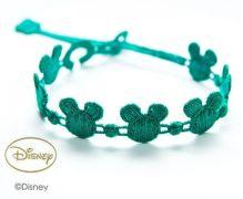 Náramok CRUCIANI Mickey Mouse smaragdová zelená