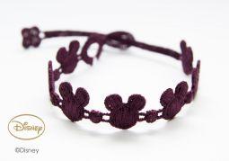 Náramok CRUCIANI Mickey Mouse tmavo fialová
