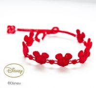Náramok CRUCIANI Mickey Mouse červená