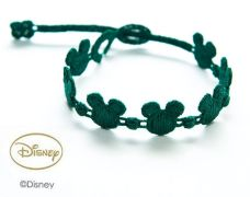 Náramok CRUCIANI Mickey Mouse tmavo zelená