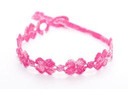 Náramok CRUCIANI Štvorlístok dúha 06. cyklamenová/ružová/svetlo ružová